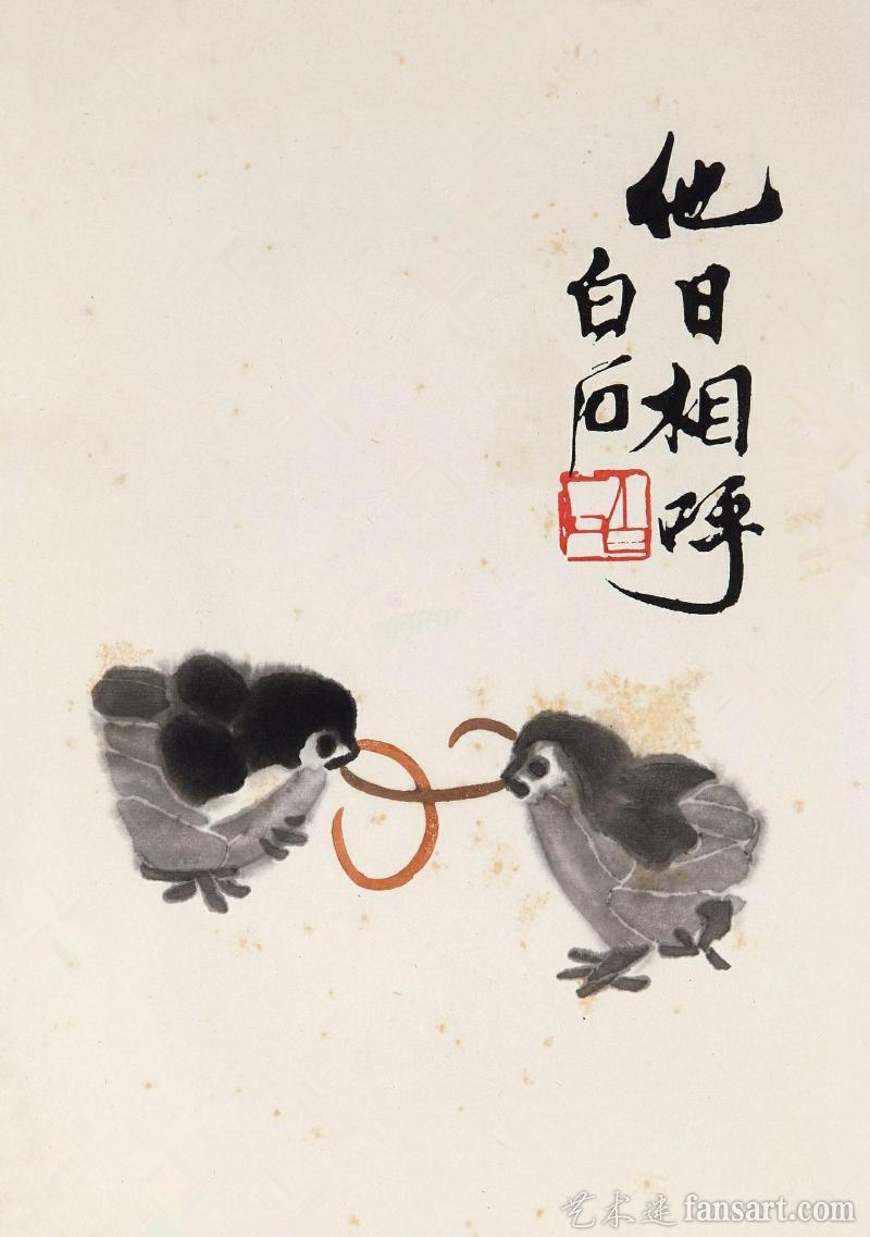 近代国画大师齐白石作品欣赏高清图片